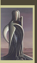 Image of Kay Sage's, The Hidden Letter